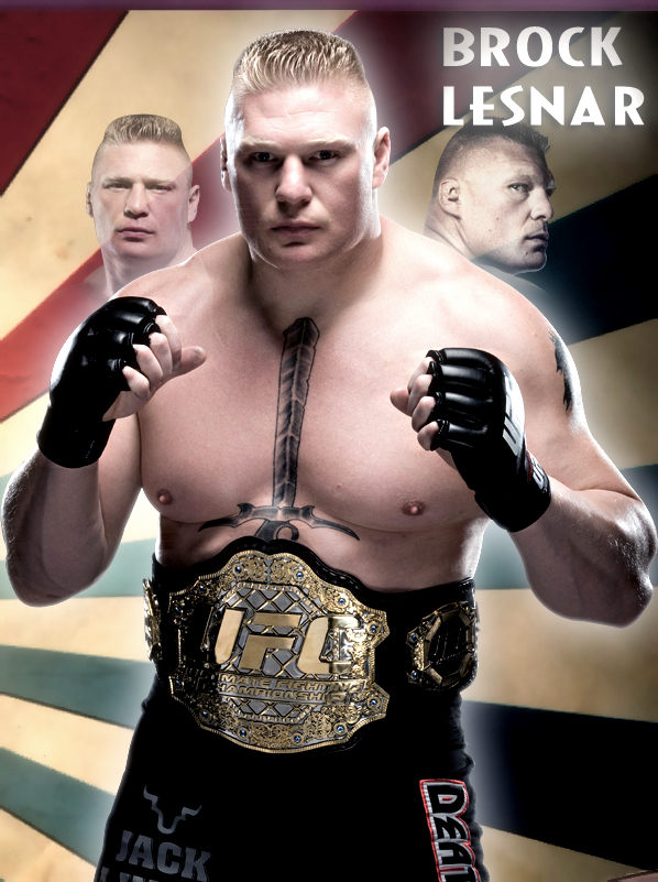 Brock Lesnar UFC Champ By Gogeta126