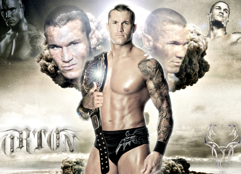 WWE Champion Randy Kieth Orton By Gogeta126