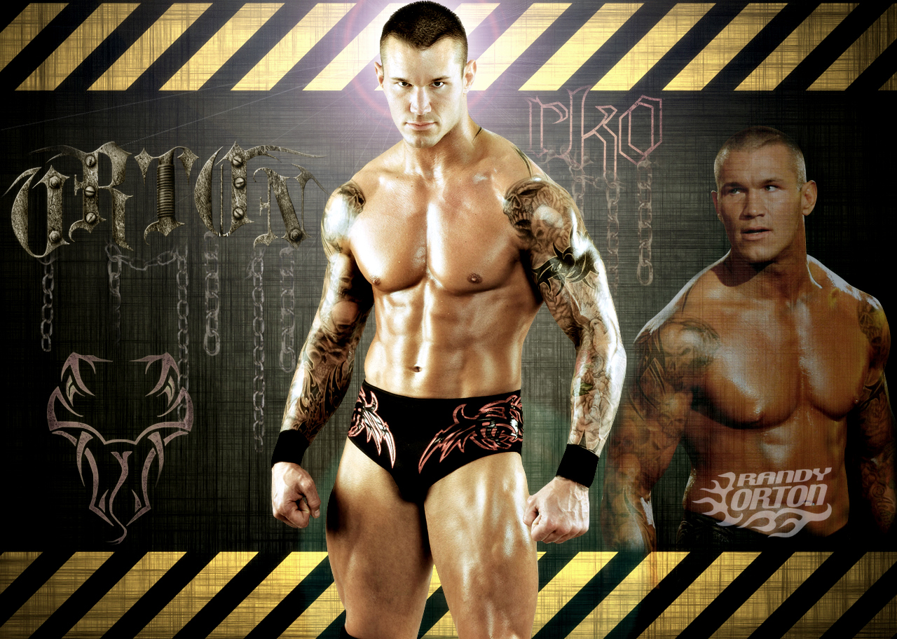 WWE By Gogeta126 Randy Orton WallpaperWWE