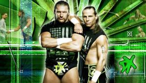 WWE DX Wall