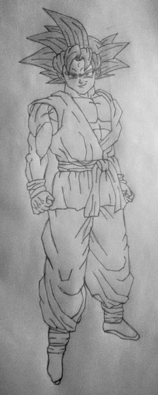 Goku Dragon Ball Z end by Gogeta126