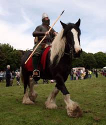 Anglosaxon soldier. by Kestenan
