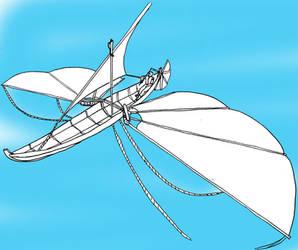 Flying boat by Kestenan