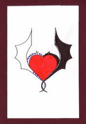 Valentines day card. by Kestenan