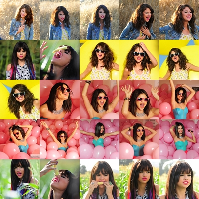 Collage de Selena Gomez para un Blend :3 by LuuLiiEditions on