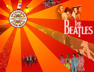 Beatles Peace - A Montage by blacklilly5150