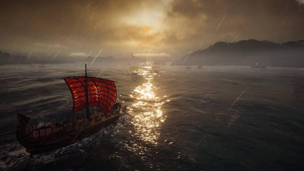 Sailing the Aegean
