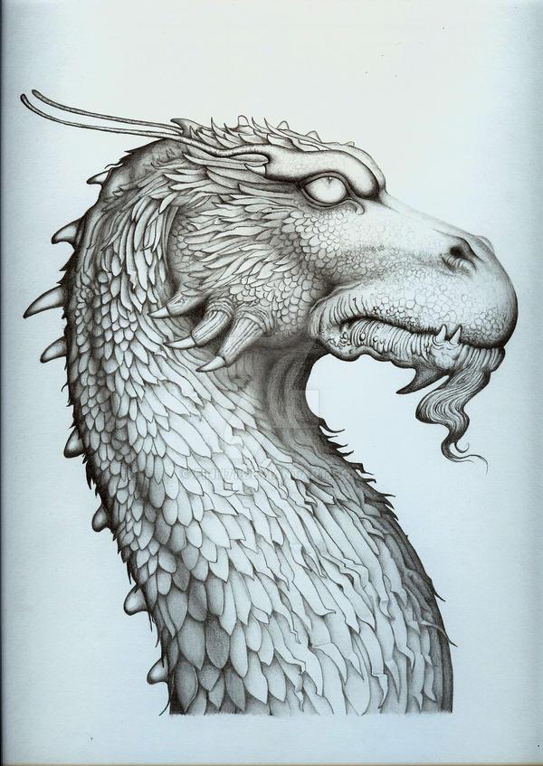 Glaedr from Brisingr by Finn71