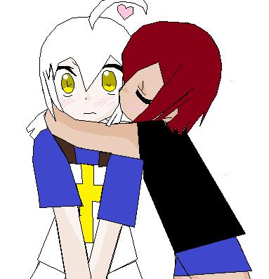 Mia and  Kyou by AkariMaki