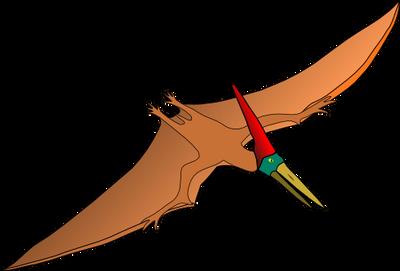 Cartoony Pterodactyl by nosajx7