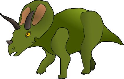 Cartoony Triceratops by nosajx7