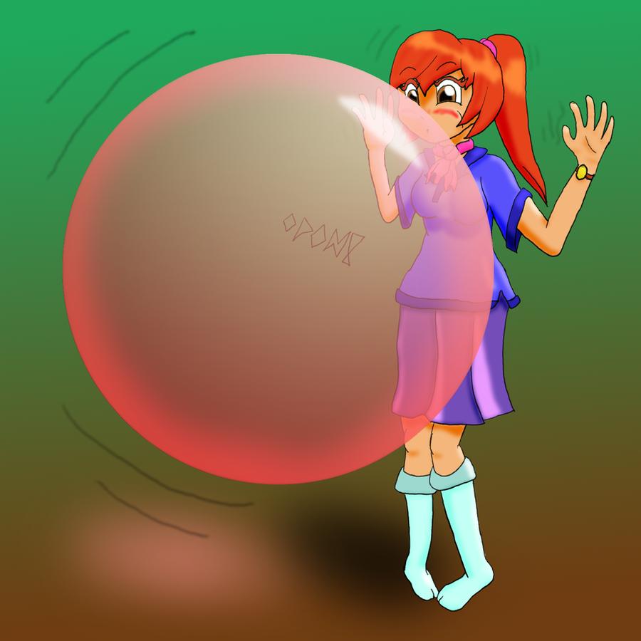 Bubble Gum Girl By Ponfuusen On Deviantart