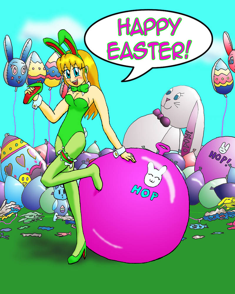 Easter Bunny 2013 by PonFuusen