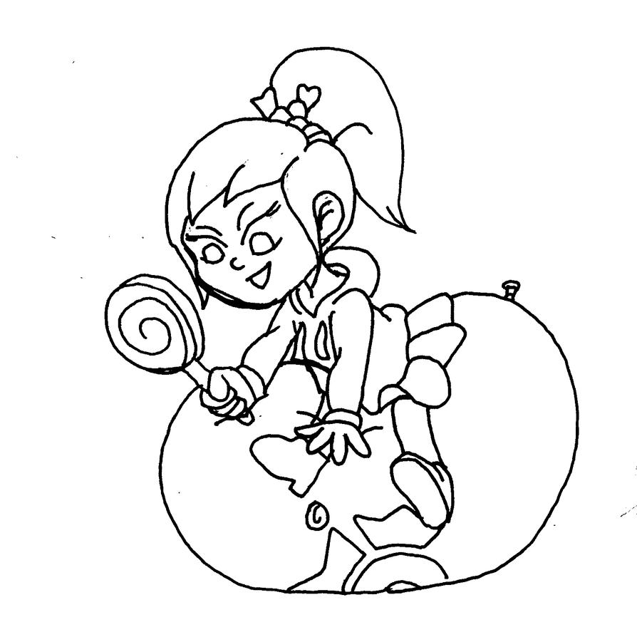 Sketches 26: Vanellope LolliPOP by PonFuusen