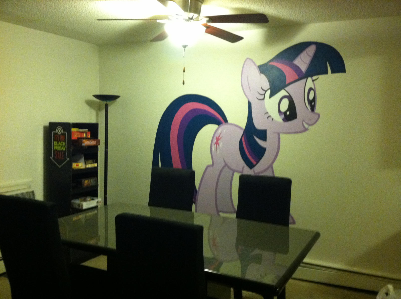 Twilight Sparkle Mural 2 by HeyApplejack