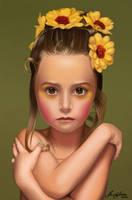 Portrait Child by brunasousa