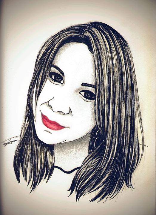 Portrait Paula Buss by brunasousa
