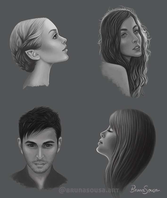 Heads by brunasousa