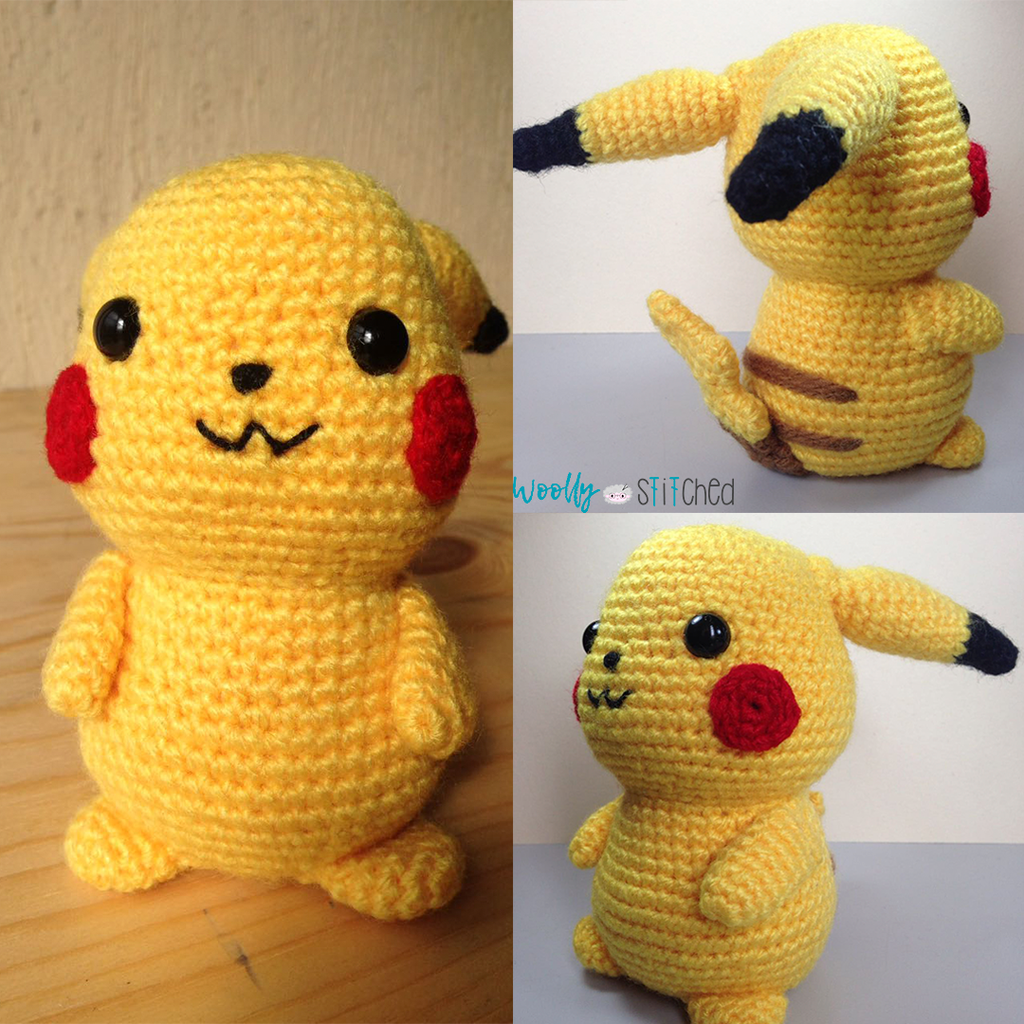 Pikachu amigurumi by bRuXiTa0910 on DeviantArt