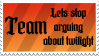 Team Lets stop arguing by Revay