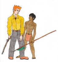 John Keller and Raki by fedishi