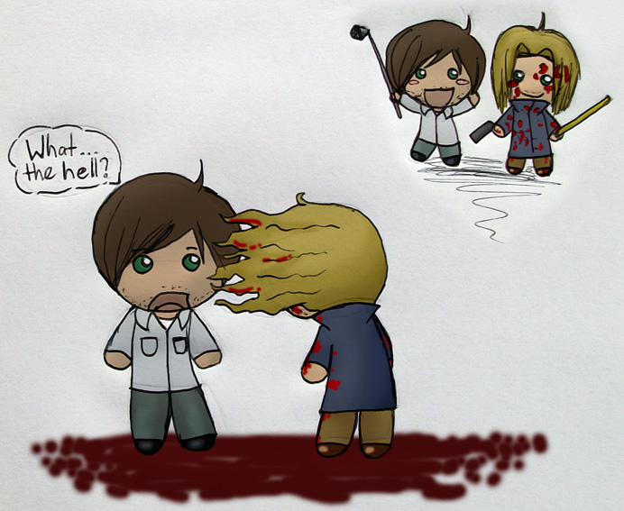 Walter and Henry CHIBIS XD by fedishi