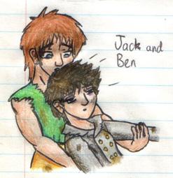 Jack catching Ben by fedishi