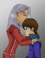 Pegasus and Kaiba by fedishi