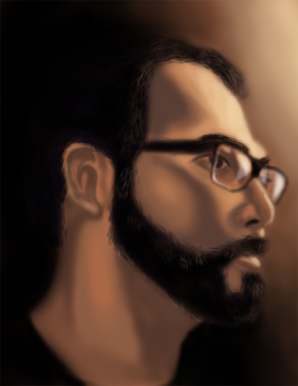 Selft-portrait by The-Dander