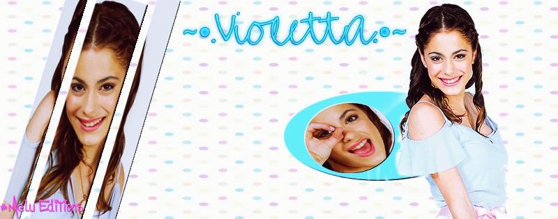 Portada de Violetta. by Melody478