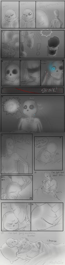 Im here - Sans and Papyrus UT | SPOILERS |