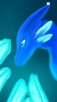 water crystal dragon
