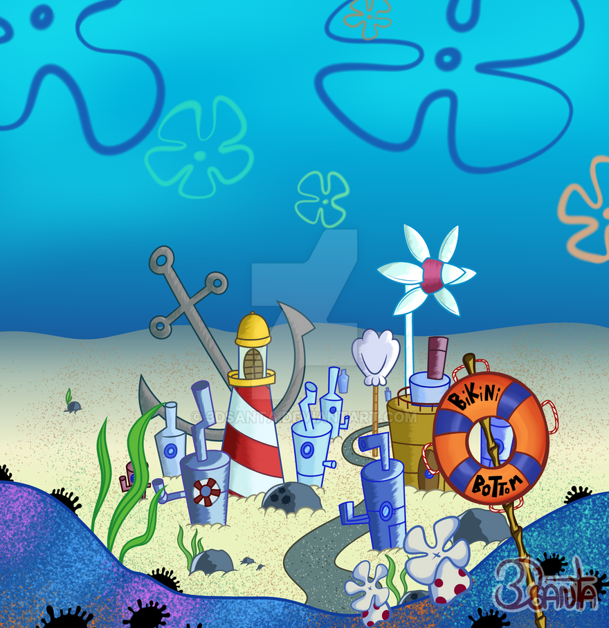 bob tales bottom Sponge bikini