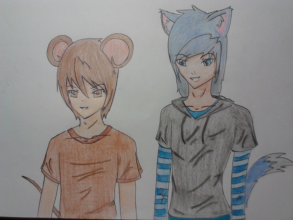Tom And Jerry: Human Version by Natushah98 on DeviantArt