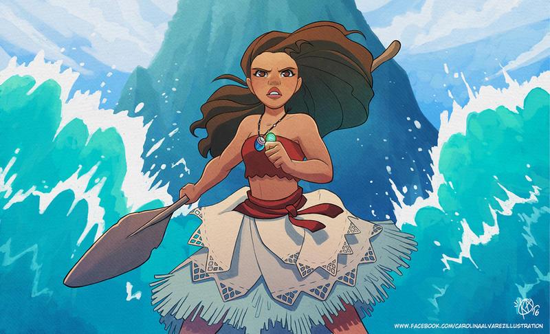 I Am Vaiana By Kaisel