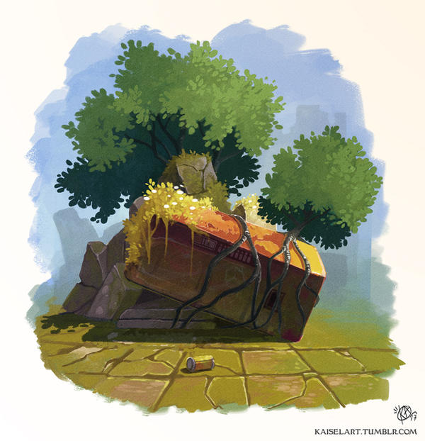 Background practice 01 by Kaisel