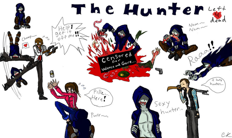 hunter wallpaper left 4 dead