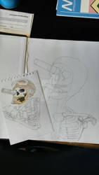 Gunslinger - Old Sketch Remake