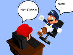 Mario Scares SMG4