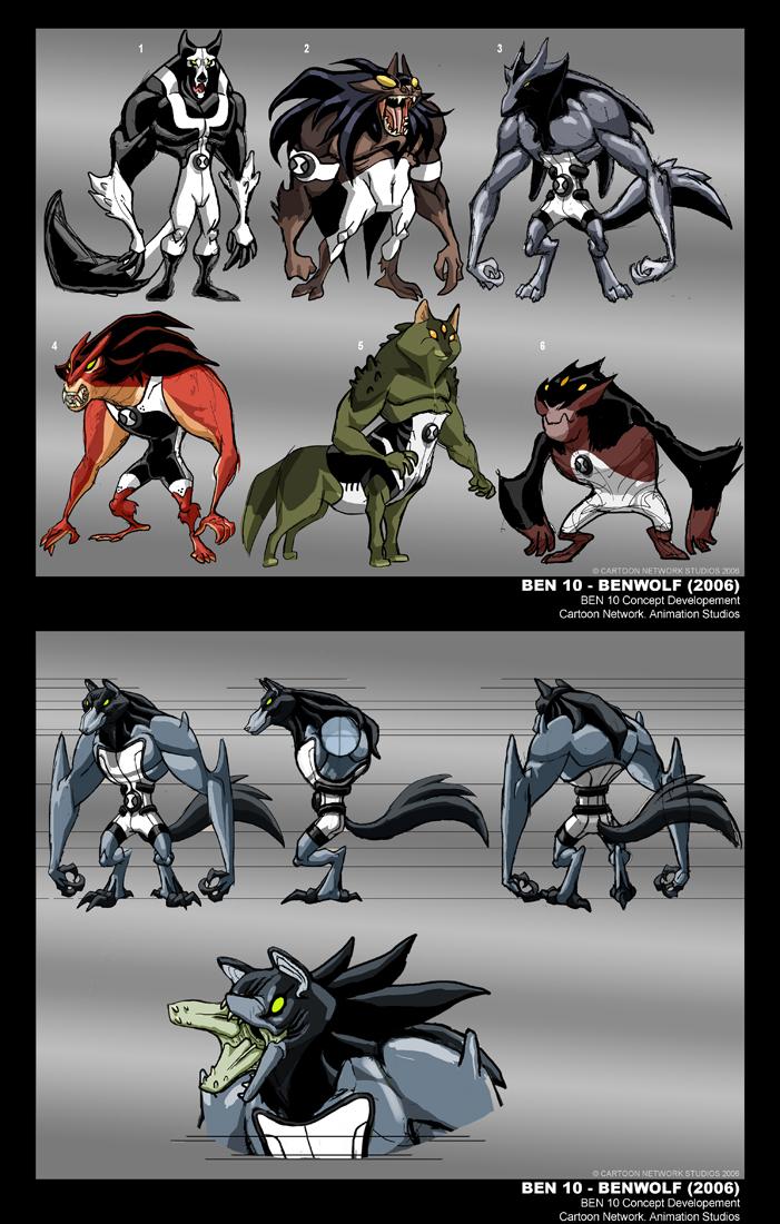 Path of Development: Benwolf by tnperkins