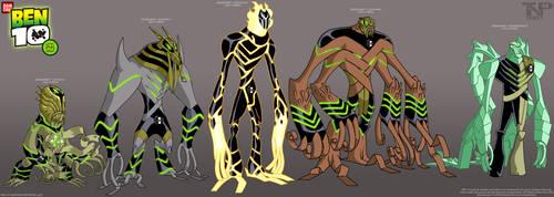 BEN 10: DNA Lab Hybrids 1..... by tnperkins