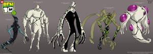 BEN 10: DNA Lab Hybrids 8.....
