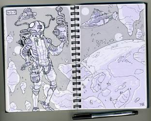 Random Sketch 4-17-11 by tnperkins