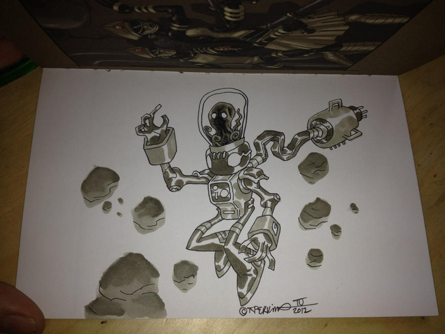 TNP Art Book Sketch for Brian... by tnperkins
