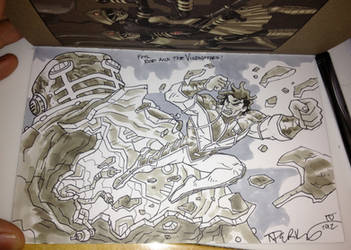 TNP Art Book Sketch for RODCOM1000... by tnperkins