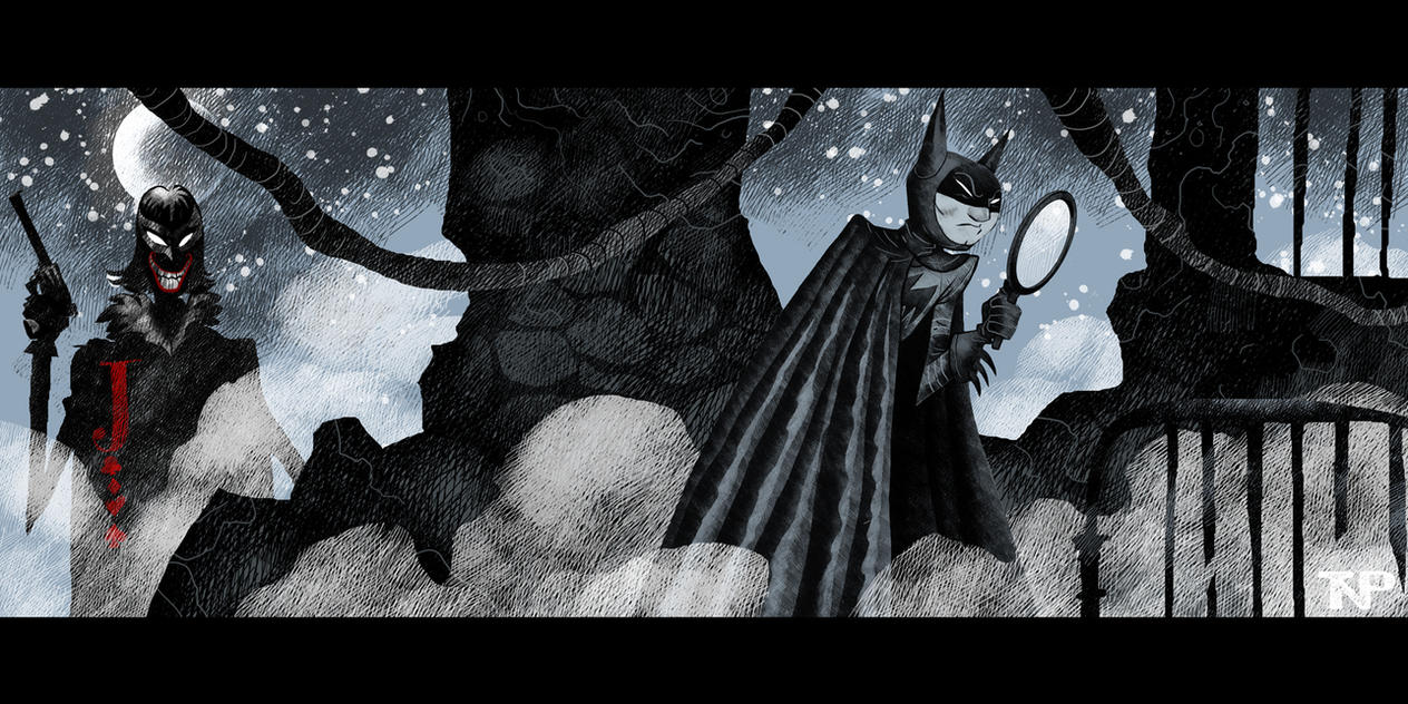 The Bat-Man of Gotham and the The Laughing Spectre by tnperkins
