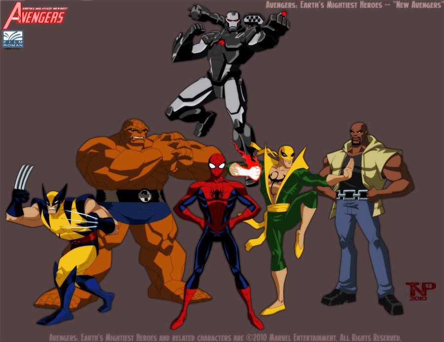 Portfolio work avengers emh new avengers by tnperkins on deviantart - Heros avengers ...