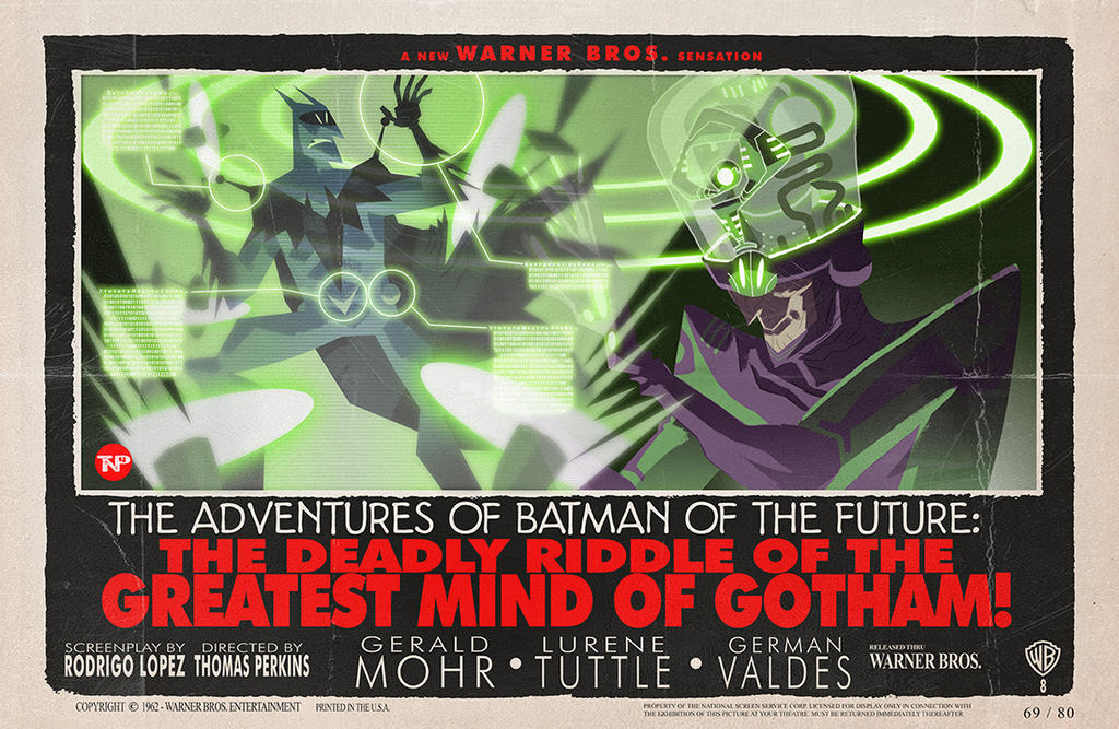 The Deadly Riddle of the Greatest Mind of Gotham! by tnperkins