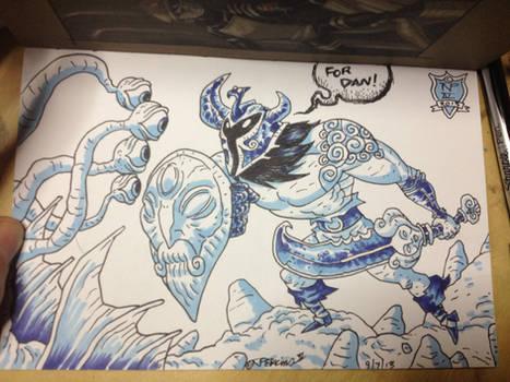 Art Book Sketch for Dan...