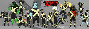 The Uncanny X-Men... eXtended...1 by tnperkins